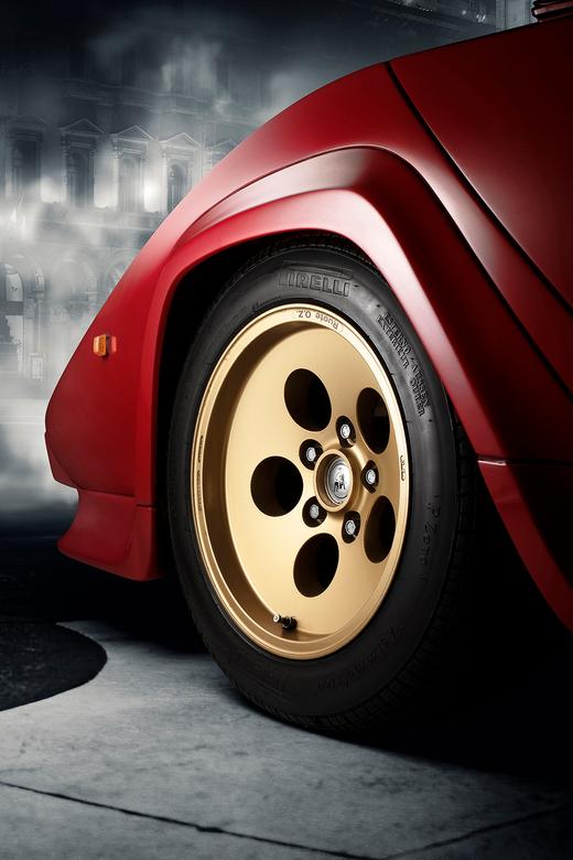 Lamborghini Countach - 1987 LAMBORGHINI COUNTACH 5000 QV. Gandini's design masterpiece.<br /> <br /> Car Fine Art, d.m.v. de FDL Technique.<br /> M