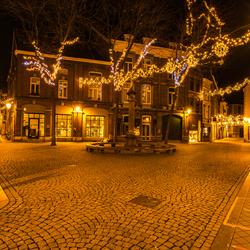 Verlaten St. Amorsplein Maastricht