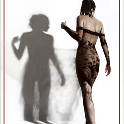 ¿unDRESSED? ...or a dress of shadows.