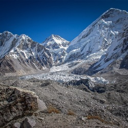 Khumbu Icefall, Mount Everest, Nepal