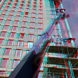 Nieuwbouw Zalmhaventoren Rotterdam 3D