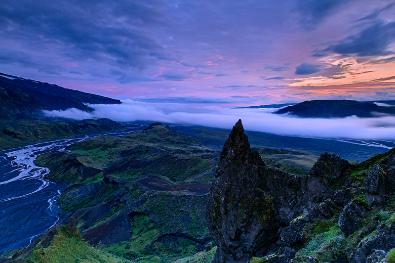 Valahnukur, Þórsmörk, Ijsland