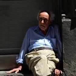 Oude man in Siena
