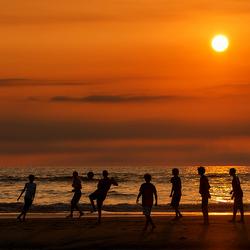 Sunset Beach Soccer