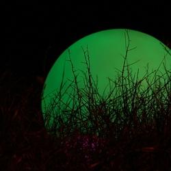 Groene lichtbol