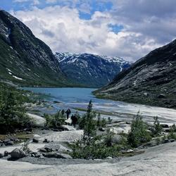 Nigardbreen Norway.