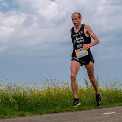 hardloper tijdens 3m marathon