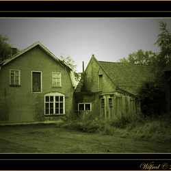 Bewerking: Oude boerderij