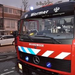 Woningbrand Wormer