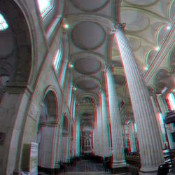 Notre Dame Basilica  Boulogne-sur-Mer 3D GoPro