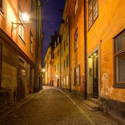 Stockholm - Gambla Stan - Prästgatan