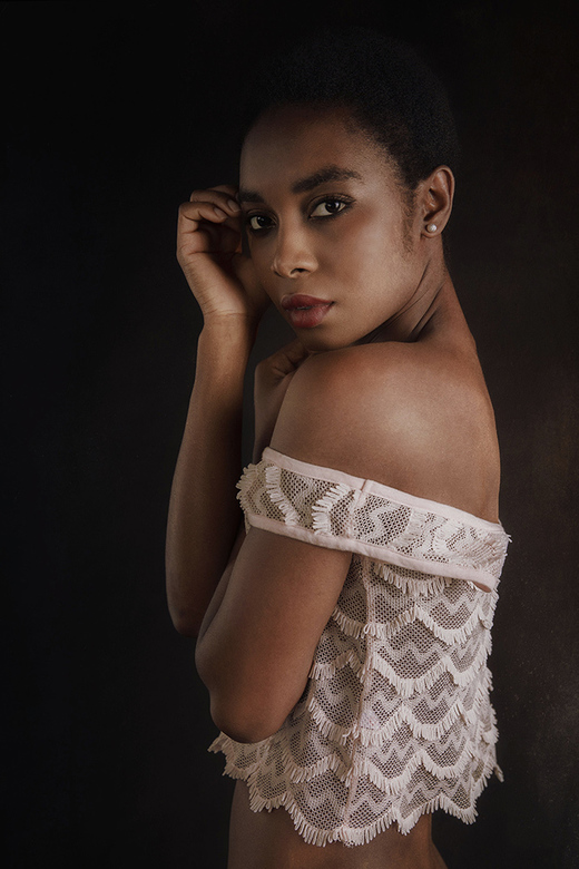white blouse - Faith Starr