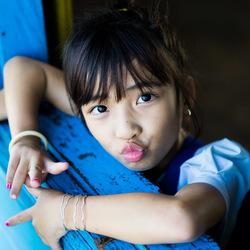 Kid in cambodia
