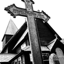 Staafkerk Roldal Noorwegen 2