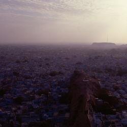 India, Blue city