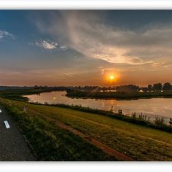 over de oud waal  Nijmegen