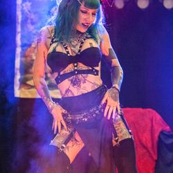 Rotterdam Tattoo conventie  Showgirl II