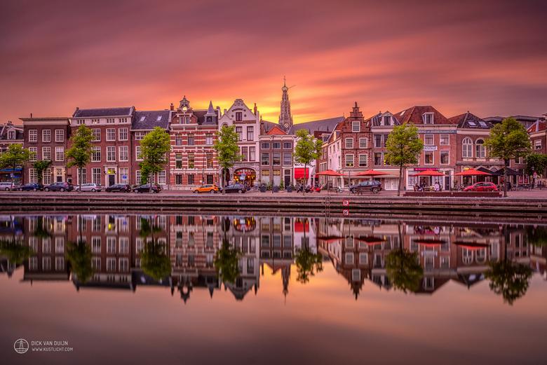 Sunset over Haarlem