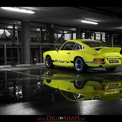 Porsche parking only
