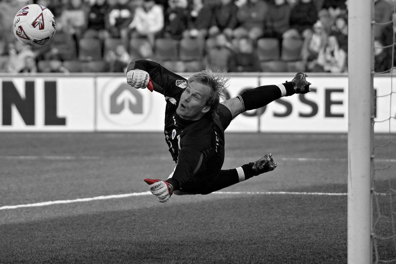 My Favorite Goalie... - Martin Pieckenhagen aka Piecke was jaren onze betrouwbare sluitpost bij Heracles. Dit is een van de mooiste foto's van he