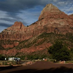 welcome in Zion Canyon