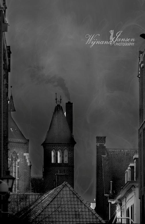 Dark days before Christmas. - Den Haag<br /> <br /> Deze is nog gemaakt met mijn oude Sony A77