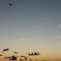 Plane to Sunset