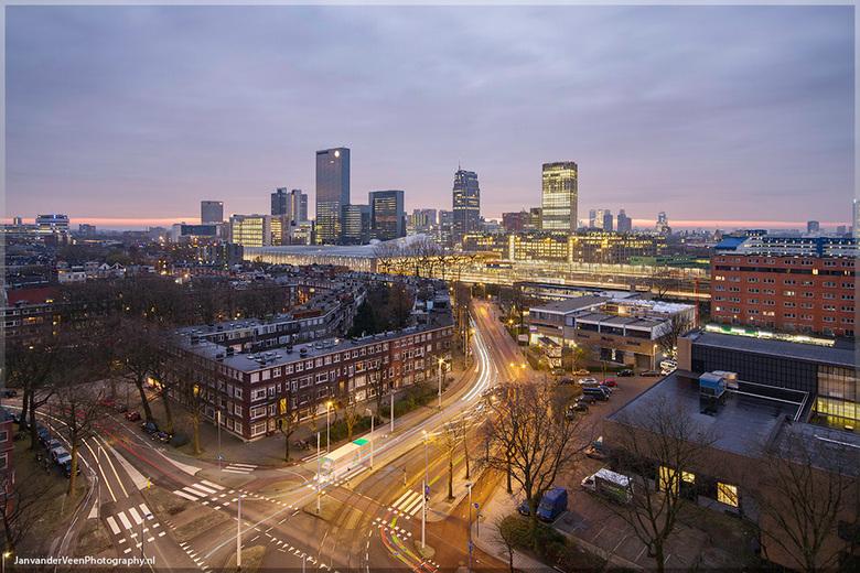 Rotterdam skyline -