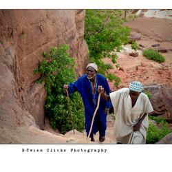 Old men's walk