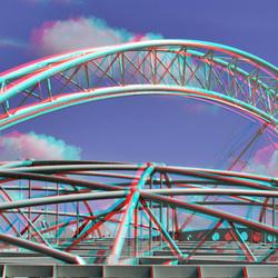 dak-Konstructie Station-Blaak Rotterdam 3D
