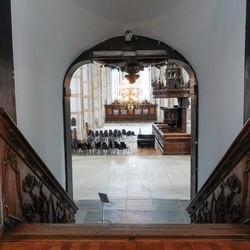 Doorkijk in de Grote Kerk in Zwolle