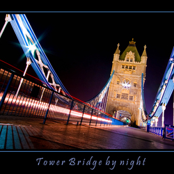 Tower Bridge by night