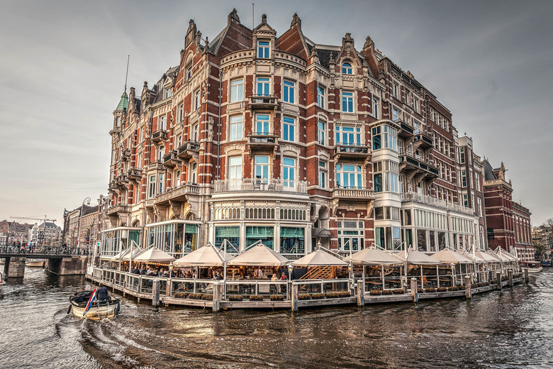 L'Europe - Het beroemde hotel L'Europe in Amsterdam.