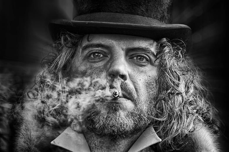 Smoking...