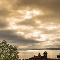 zonsopkomst in Horta