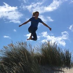 Zweefmoment op Vlieland