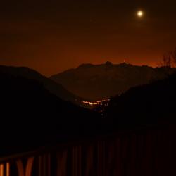 Nacht foto landschap Oostenrijk