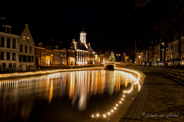 Dokkum by Night -