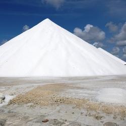 Salt-mountain Bonaire
