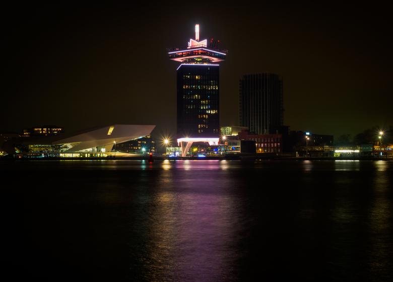A'dam Lookout - Avondfotografie is zo gaaf, zeker in de stad Amsterdam!