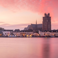 Sunrise in Dordrecht.