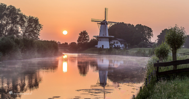 Sunrise at the Mill -