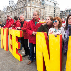 Straatfotografie Protest Oekraine Referendum Dam Amsterdam oogstfotografie-1-3
