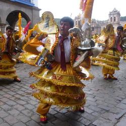Feest in Cusco Peru