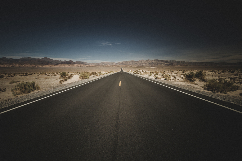 Endless roads - Endless roads in Death Valley