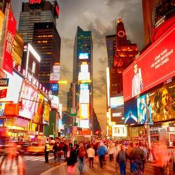 Time Square by night