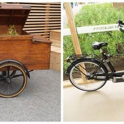 Duurzaam nostalgisch vervoer op de Floriade.