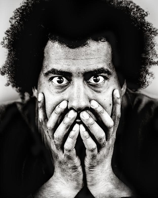 Harold - Geïnspireerd door mijn favoriete Anton Corbijn foto van jazz legende Miles Davis.