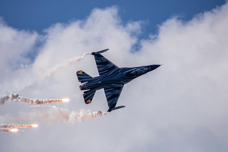 Volkel Air Base - Prachtige paint op de belgische F16