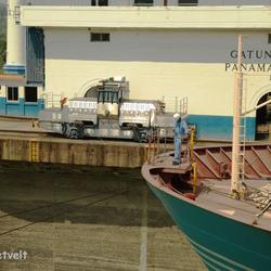 Gatun sluizen in Panama